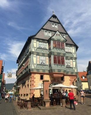 Ttraditional South German house in the Black Forest