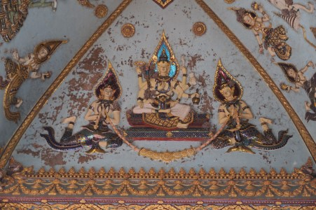 ... displaying Buddhist deities