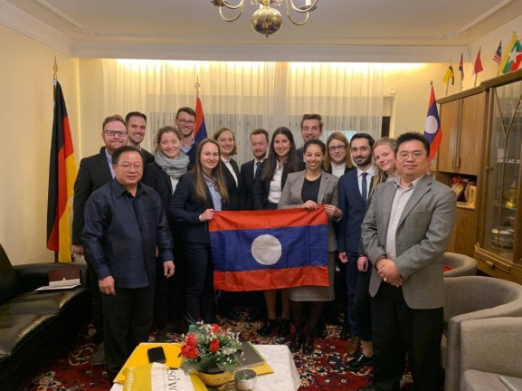 My delegation and the Lao Ambassador together with his staff