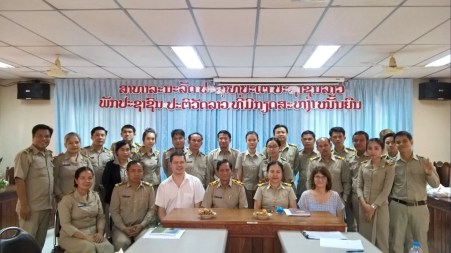 Visiting Savannakhet Teacher Training College