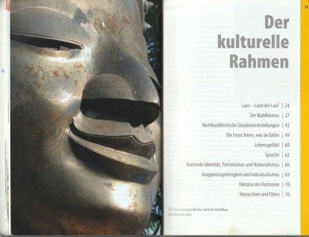 "Section about the ""cultural frame"" of the country - excerpt from ""KulturSchock Laos"", © 2005 Reise Know-How Verlag Peter Rump GmbH"