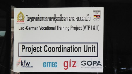 Vocational Education is a Lao-German project
