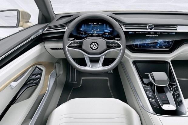 2019 VW Touran interior