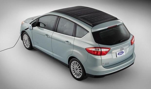 2019 Ford C-Max Solar Energi rear view
