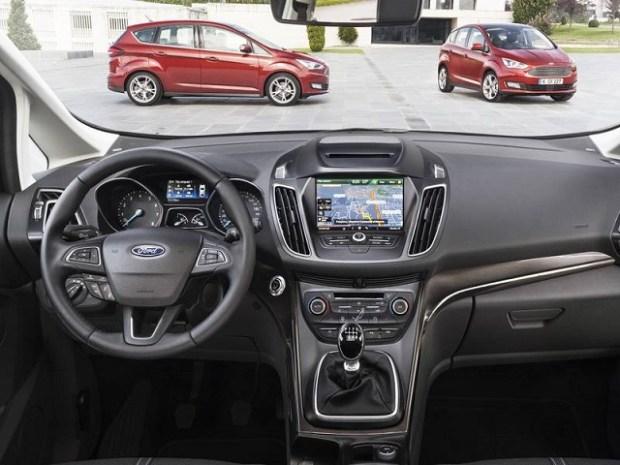 2020 Ford Grand C-Max dashborad