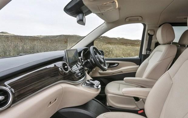 2020 Mercedes-Benz V-class interior