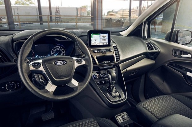 2019 Ford Transit Connect dasboard