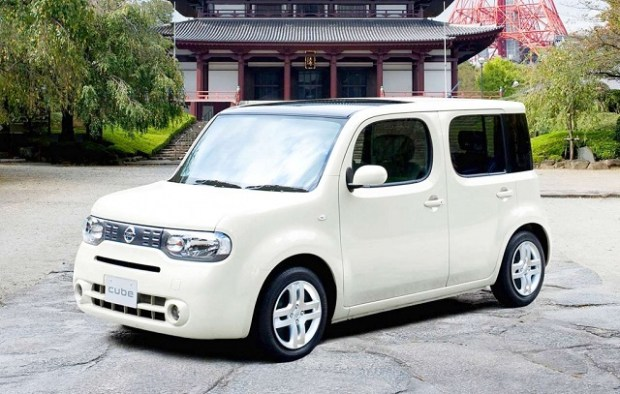 2019 Nissan Cube front view
