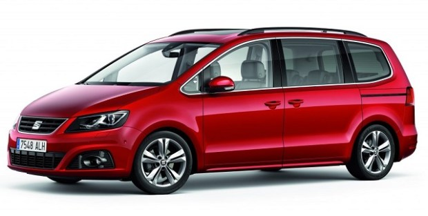 2019 Seat Alhambra front view