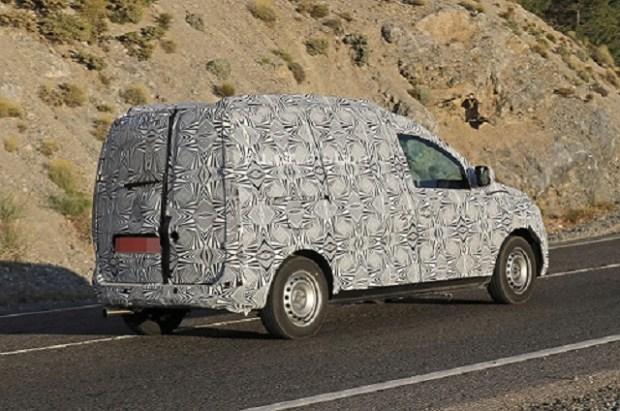 2020 Dacia Dokker spy