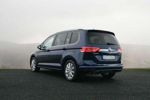VW Touran Rear