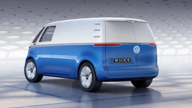 2022 VW I.D. Buzz Cargo design