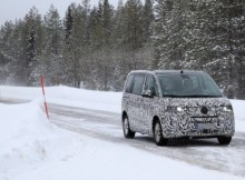 2021 Volkswagen Transporter T7 spy shot