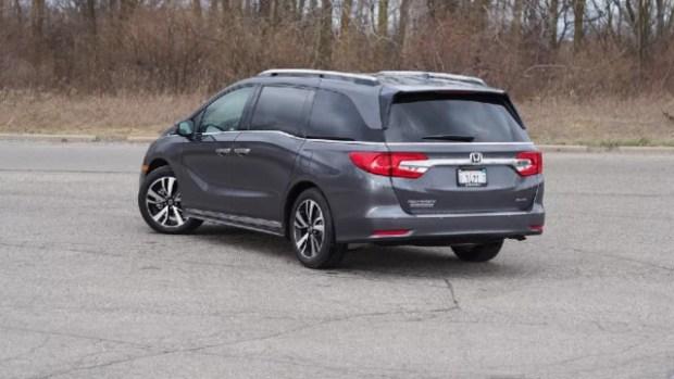 2021 Honda Odyssey Hybrid design