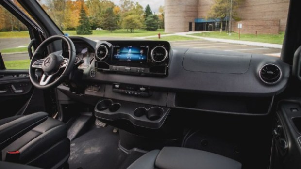 2021 Mercedes-Benz Sprinter interior