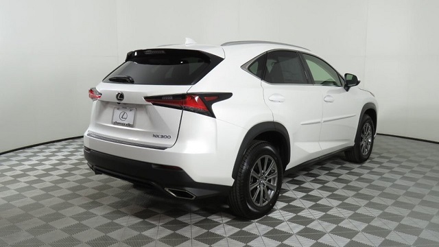 2019 Lexus NX 300 rear view