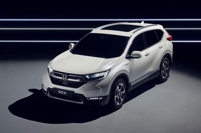 2019 Honda CR-V front view