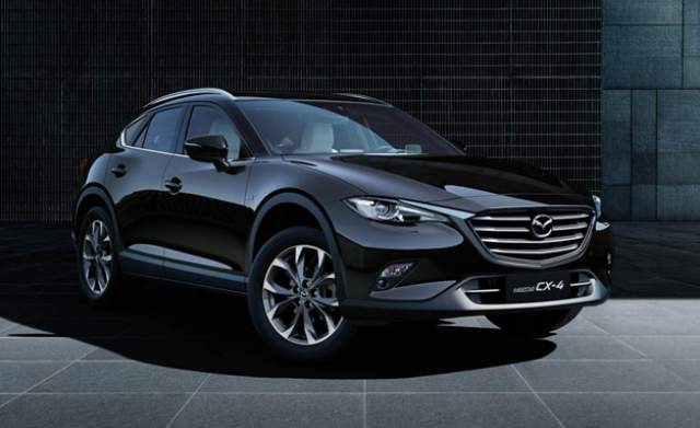 2019 Mazda CX-4 front view