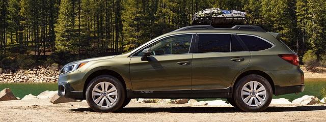 2020 Subaru Outback Hybrid side view