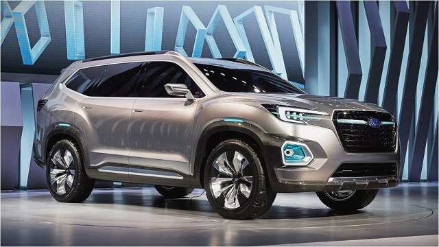 2020 Subaru Outback side view