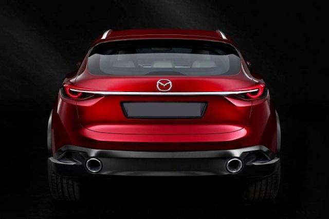Mazda CX-7 rear view