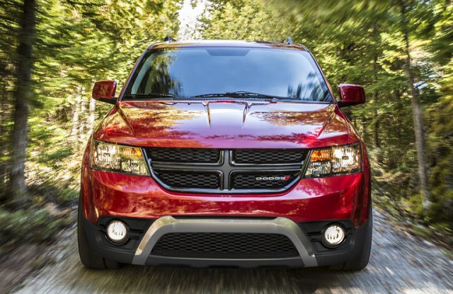 2019 Dodge Journey front view