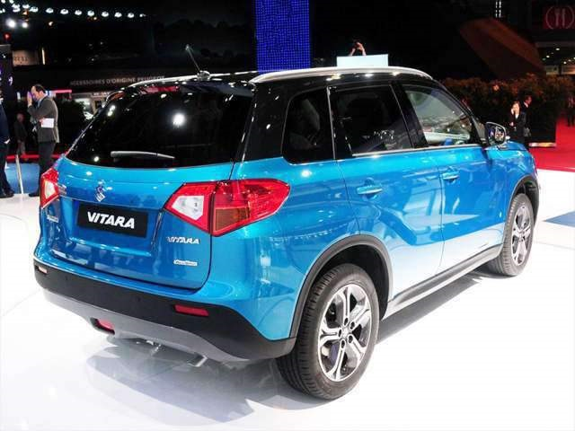 2019 Suzuki Grand Vitara rear view