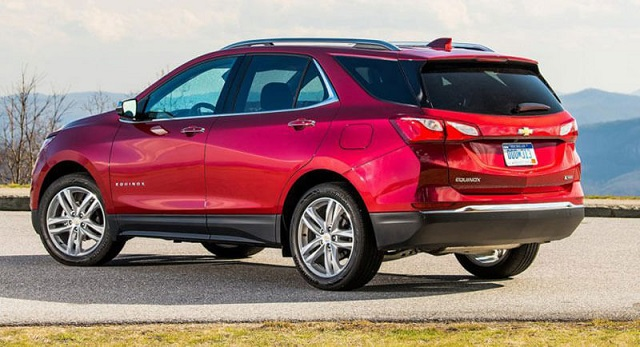 2020 Chevy Equinox rear view