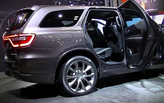 2020 Dodge Durango rear view