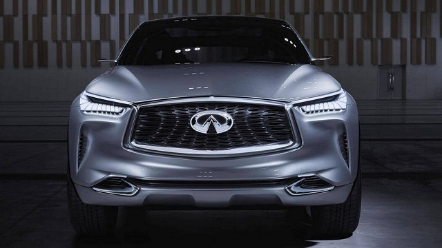 2020 infiniti qx70 front view