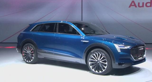 Audi Q6 side view