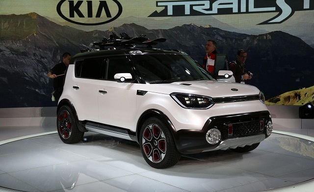 Kia Trail'ster front view