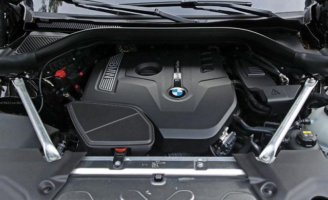 2020 BMW X3 engine