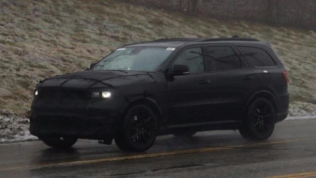 2020 Dodge Journey spy shots