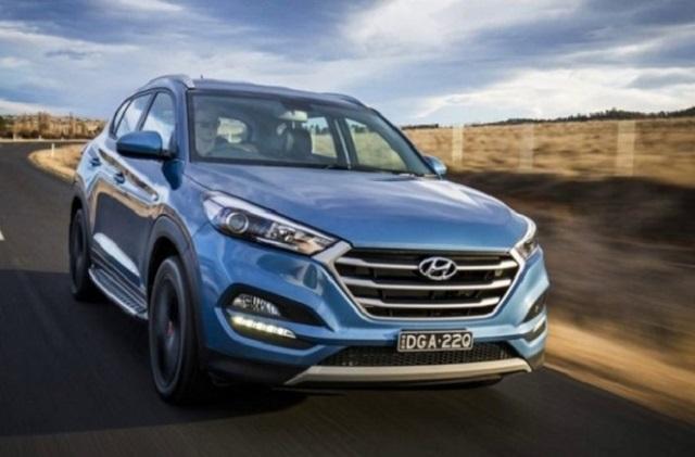 2020 Hyundai Tucson front view