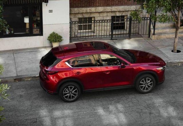 2020 Mazda CX-5 top view