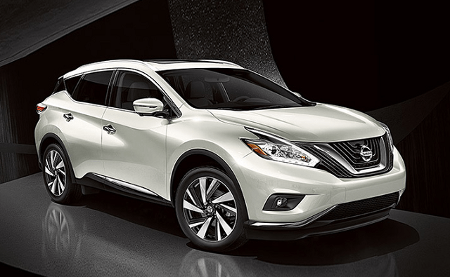 2020 Nissan Murano front view