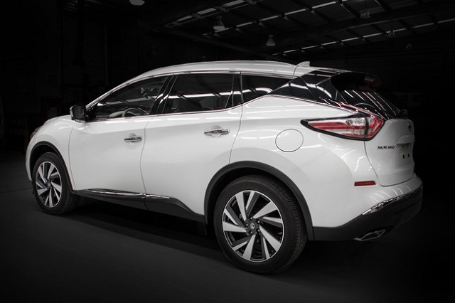 2020 Nissan Murano rear view
