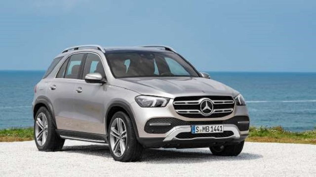 2020 Mercedes-Benz GLE front view