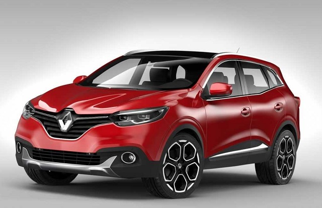 2020 Renault Kadjar front view