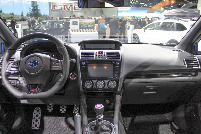 2020 Subaru Crosstrek XTI interior