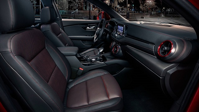 2020 chevy blazer interior