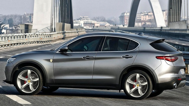 2020 Ferrari SUV side view
