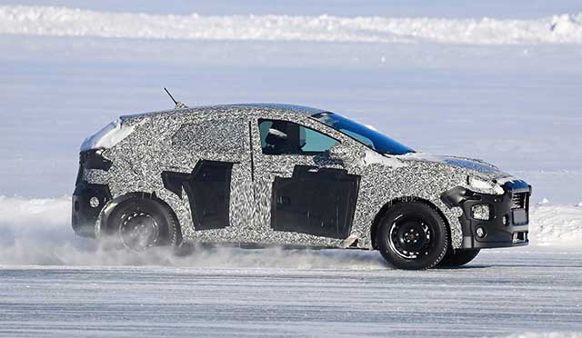 2020 Ford EcoSport spy photos