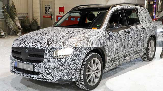2020 Mercedes - Benz GLB spied