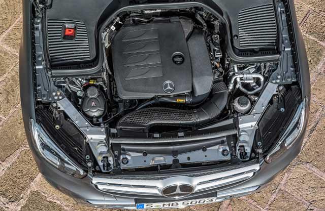 2020 Mercedes - Benz GLC engine