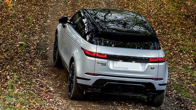 2020 Range Rover Evoque redesign