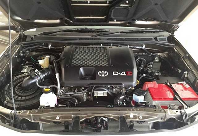 2020 Toyota Fortuner specs