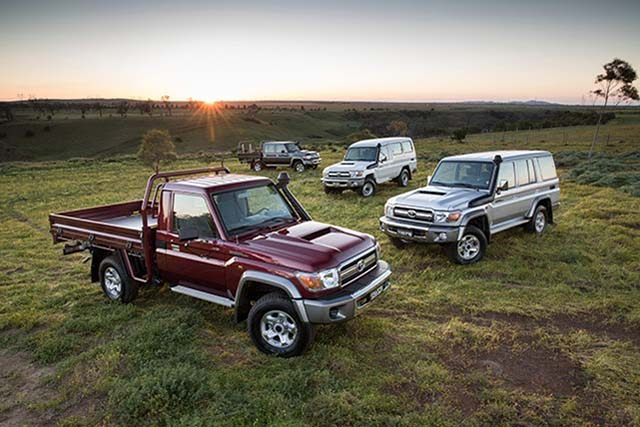 2020 Toyota Land Cruiser LC 70 series