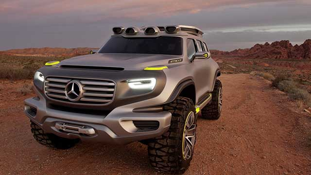 2020 Mercedes - Benz GLG off road concept